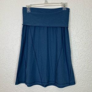 The North Face small skirt flash dry blue pocket